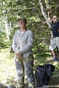 Lisa Nørgaard checker vinderklasse vandpost