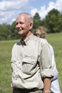 Glad og stolt Frank Skinbjerg, med brugsprøvens bedste hund