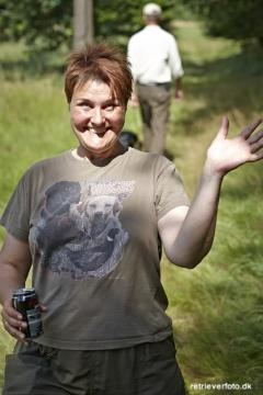 Marlene Svendsen havde en fantastisk dag som udlægger